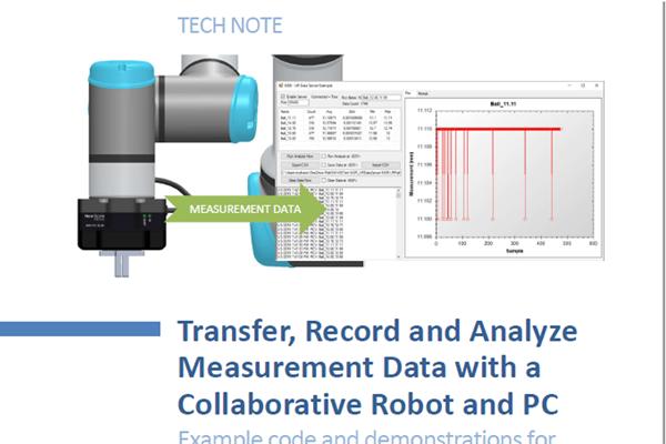 Measurement Inspection with Cobots - New Scale Robotics