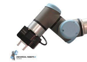 Parallel gripper is Universal Robots certified